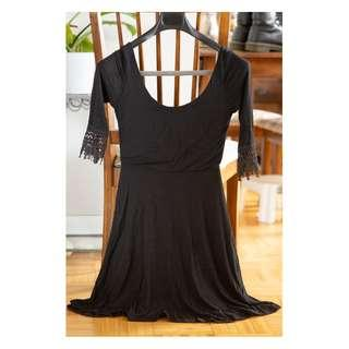 Black cocktail dress size small