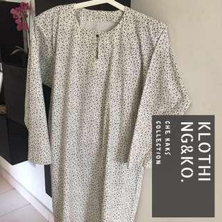 Baju Kurung Cotton Plus Size
