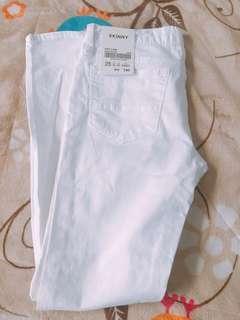 全新spao白色褲子