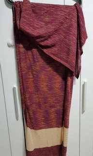 🚚 Semi instant knitted shawl