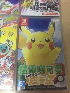 Switch Pokemon 比卡超版