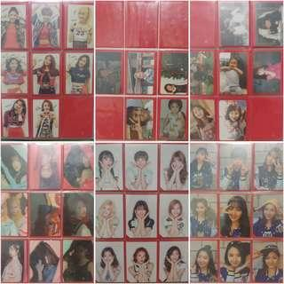 Twice Photocard Collection part 1