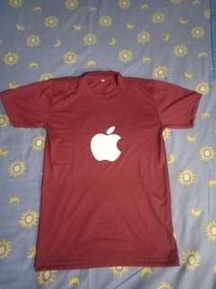 Kaos / T-shirt apple pria
