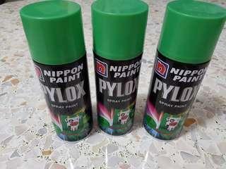 Nippon Paint Pylox Spray Paint (56 Fresh Green)