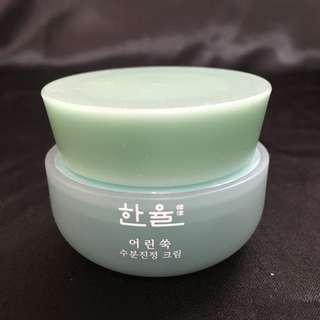 韓律 Hanyul pure artemisia watery calming cream 嫩艾草舒緩保濕霜 20ML