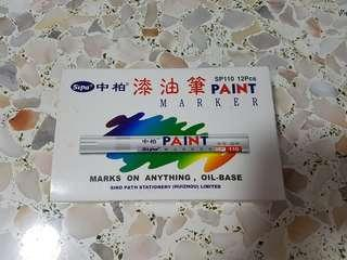 Paint marker oil base (Green, Yellow, Black)