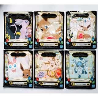 日本一番賞比卡超伊貝毛巾 一套六款 全新 可面交或郵寄