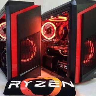 Ryzen 3 2200G BUDGET CUSTOM GAMING PC