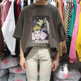 🚚 Villian tshirt