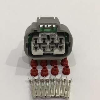 8 Pin Perodua Myvi 1.3 1.5 Lagi Best 4 Speed Auto Gearbox Inhibitor Socket Connector
