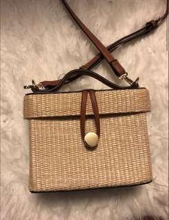 Forever 21 Straw Bag
