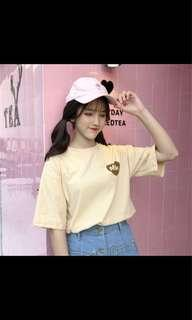 Uzzlang Milk T shirt