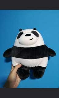 (No trades) We Bare Bears 30cm Panda Stuffed Toy Plush