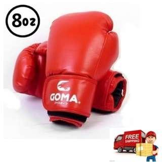 寶林站 Goma  8安士 PU 拳擊/泰拳 拳套 8oz Boxing Glove 包順豐 Free SF express