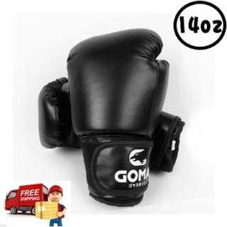 寶林站 Goma  14安士 PU 拳擊/泰拳 拳套 14oz Boxing Glove 包順豐 Free SF express 0