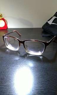 🚚 文青 漸層 眼鏡