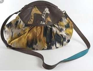 🚚 Anthropologie 'Safari Guides' sling bag