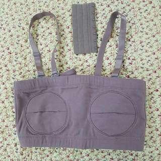 Hands free pumping bra (bra buat mompa)