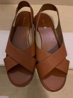 🚚 ALDO 真皮涼鞋