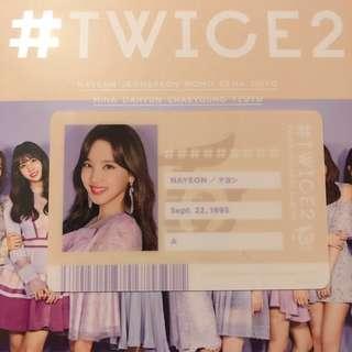 [WTT] TWICE - #TWICE2 ID CARD