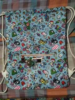 🚚 Tokidoki Denim Daze Draw bag