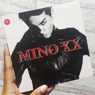 (Unsealed) WINNER: Mino - XX album ver. 2 with OFFICIAL POSTER
