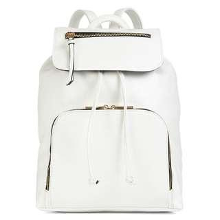 ALDO FAUX LEATHER BACKPACK