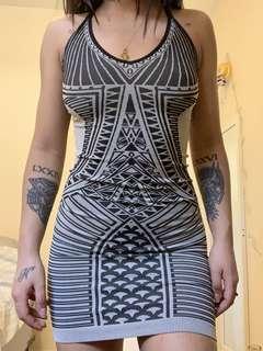 Textile Dress