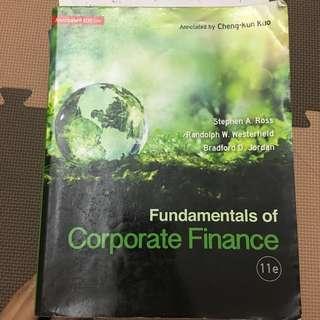 🚚 財務管理 Corporate Finance