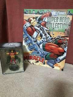 Mister Miracle-Eaglemoss Dc Comics Villains Figurine