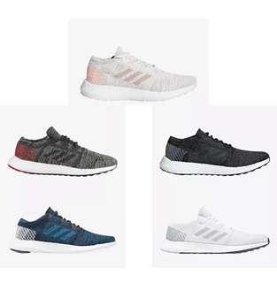 Adidas Pure Boost go women 愛迪達 女生限定 慢跑鞋 休閒鞋 粉橘 黑 海軍藍 純白 黑灰