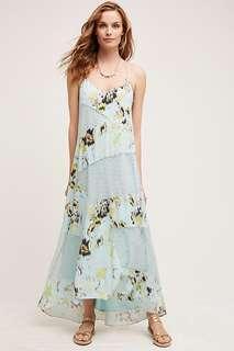 Anthropologie Floral Maxi Dress (BNWT - Med)