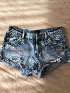 S shorts $1 each, $3 for all