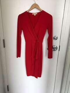 MK Red Evening Dress