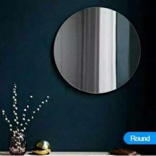 Round Mirror no frame