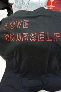 Kaos Love Yourself BTS World Tour