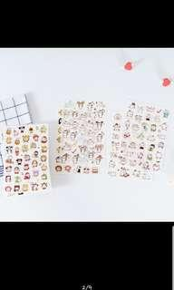 Cute stickers preorder