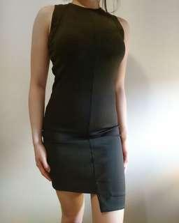 Witchery Mini Black Dress