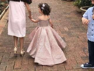 Flower girl birthday dress