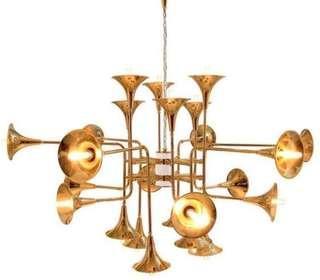 Grand Trumpet Chandelier