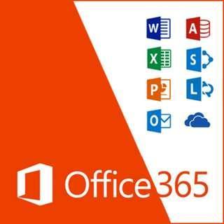 Office365 辦公軟體 絕對正版 永久使用 excel word ppt MacBook Windows皆可