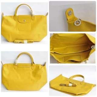 Longchamp Neo yellow ori