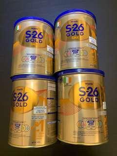 惠氏 s26 s-26 gold 1號 400g 新貨 新裝 平衡車 dha 三輪車 嬰兒 美素 美贊臣 能恩