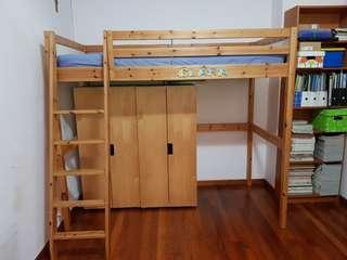🚚 Ikea loft bed