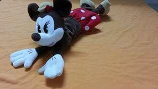 迪士尼 米妮電腦老鼠手護托