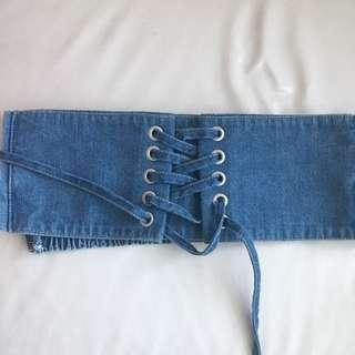 Lowrys Farm Denim Belt