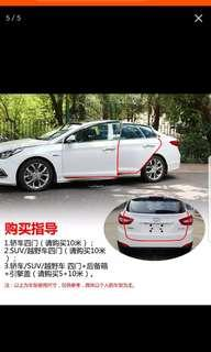 Slim Car door guard protection anti-collision for all cars