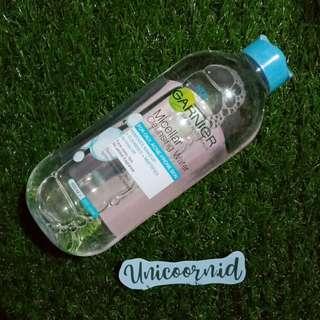 Free Ongkir Jabodetabek 🚚 Garnier Micellar Water 400 ml - Biru (Kulit Oily)