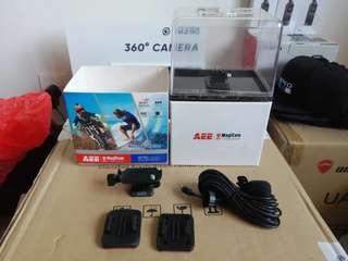 AEE S70 S71 magicam Adapter mount + Mic Gopro Go pro