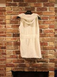 (NEW) KOREAN long vest white